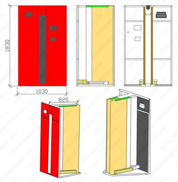 Uniform Storage Door