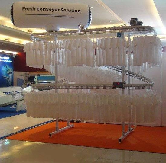 Fresh USA garment conveyor