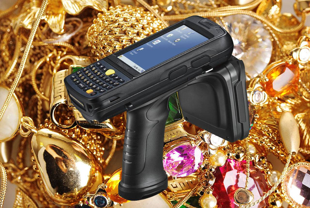 Inventory RFID UHF hh jewelry theft prevention