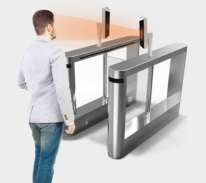 Fast temperature measurement access control with face recognition