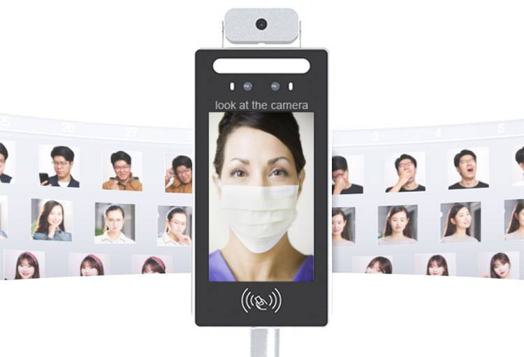 Temperature Access Control with Face Recognition