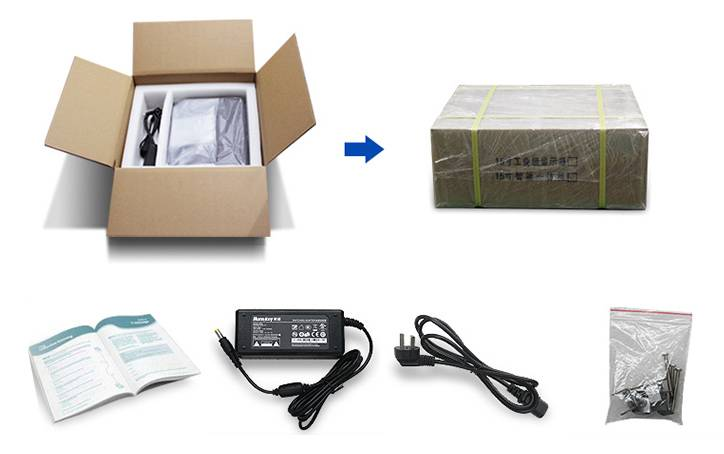Type of packaging and kit temperature access control