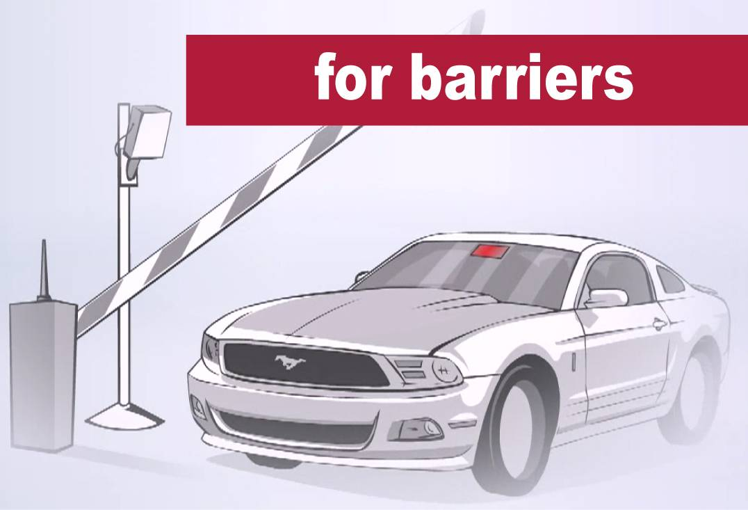 barrier parking systems RFID