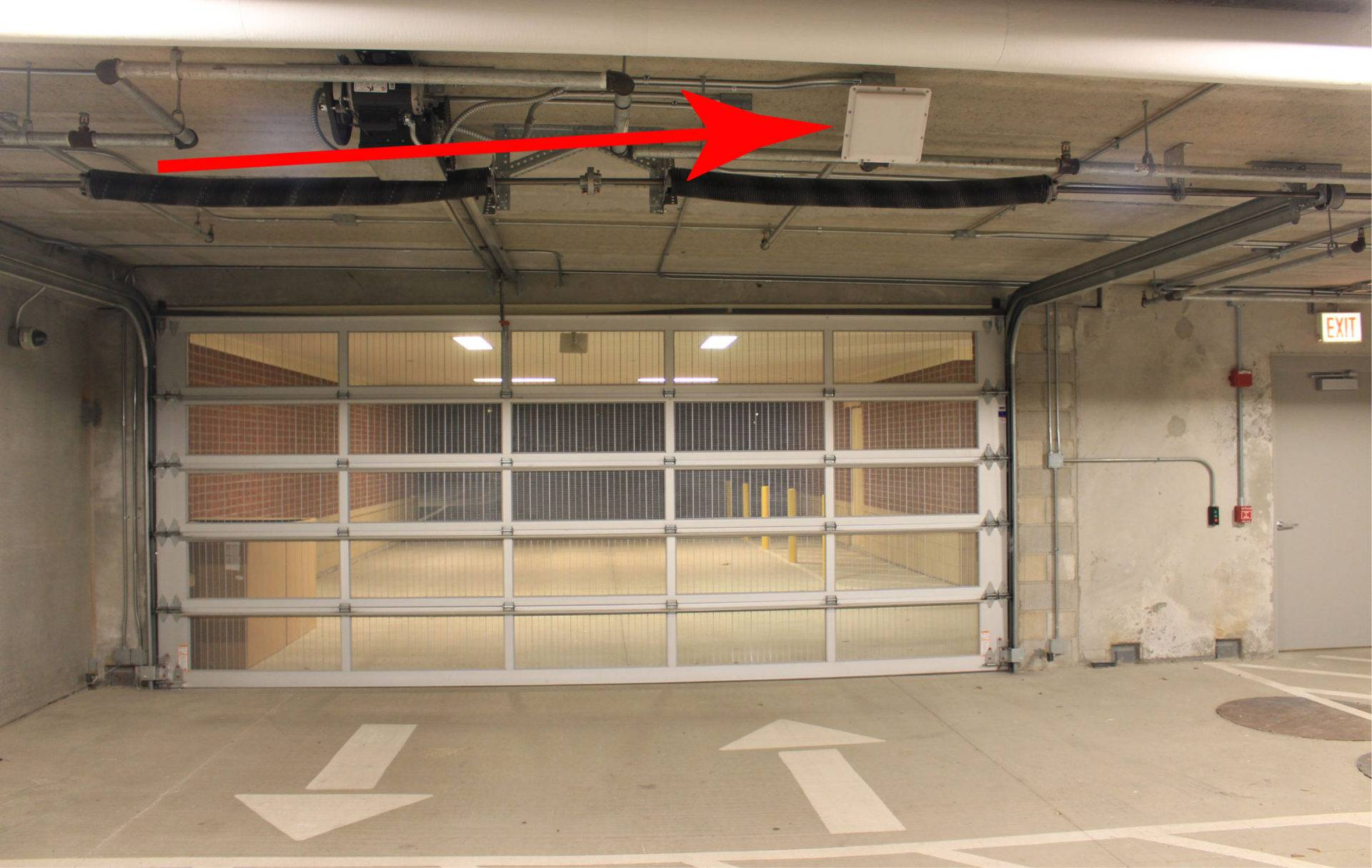 gate parking systems automation RFID