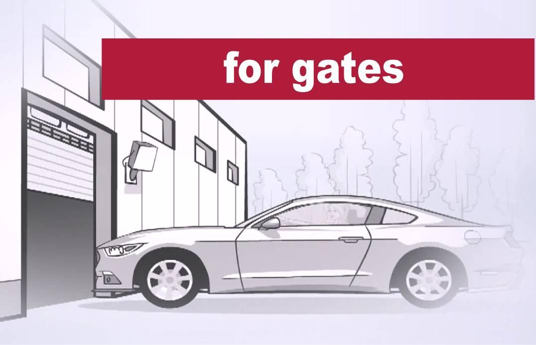 gate parking systems RFID UHF