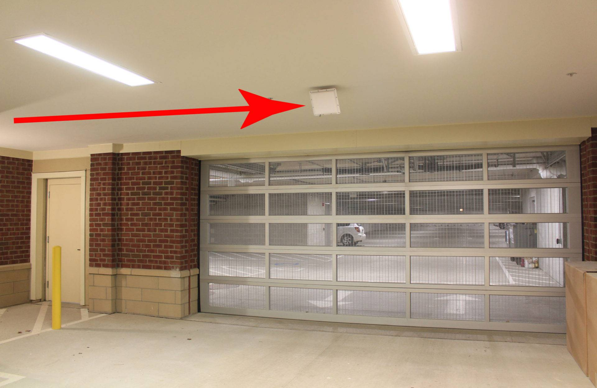 gate parking systems automation RFID UHF