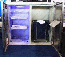 Equipment Towel storage cabinet tracker