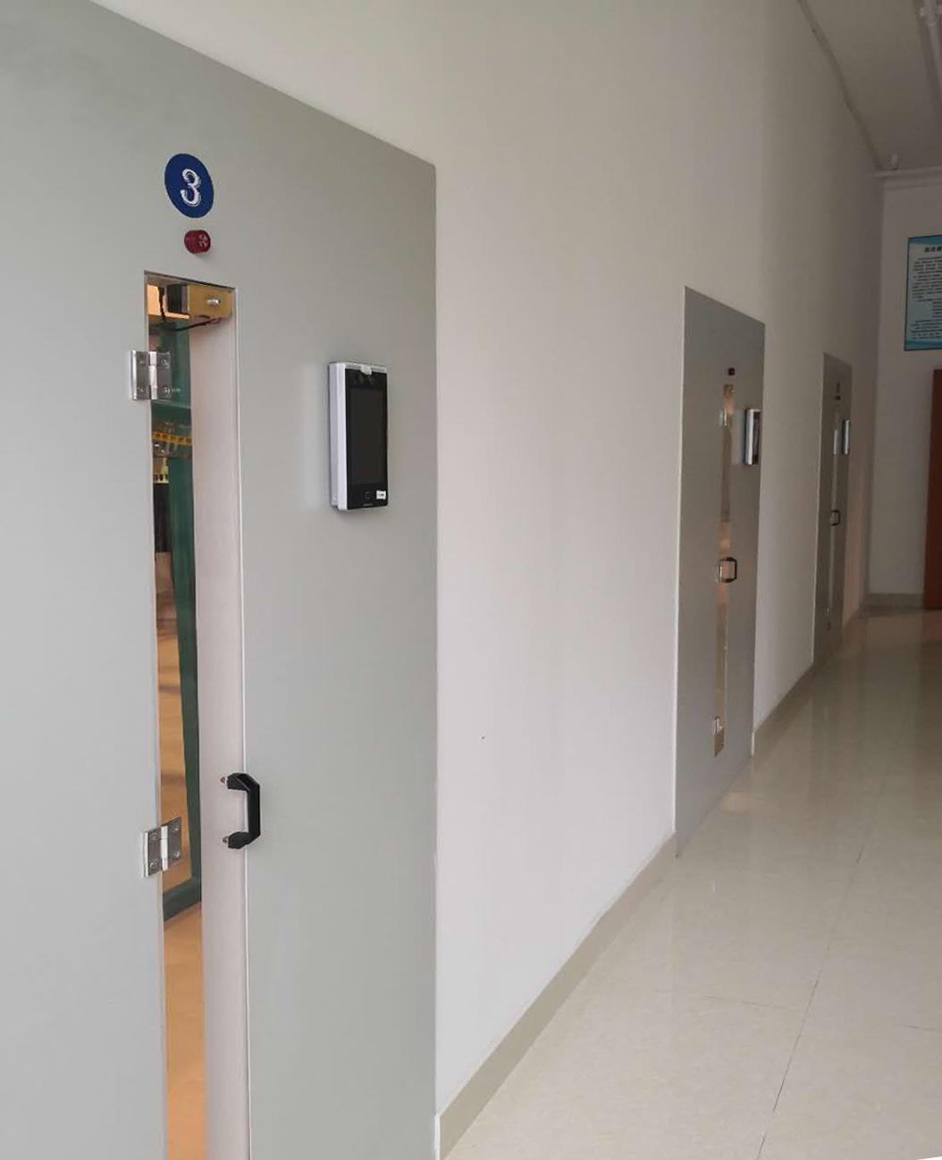 face recognition automatic uniform system door