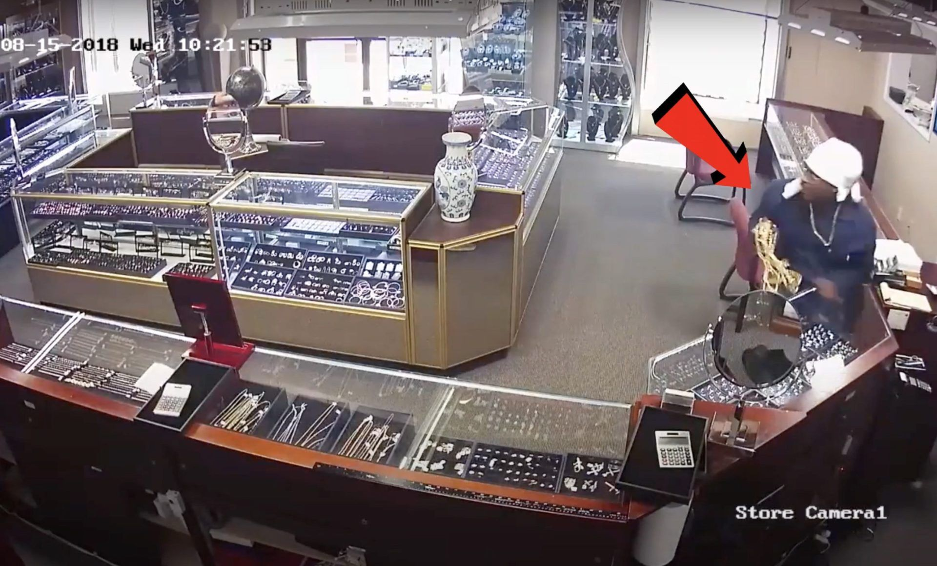 Shop Burglar | Store Robbery