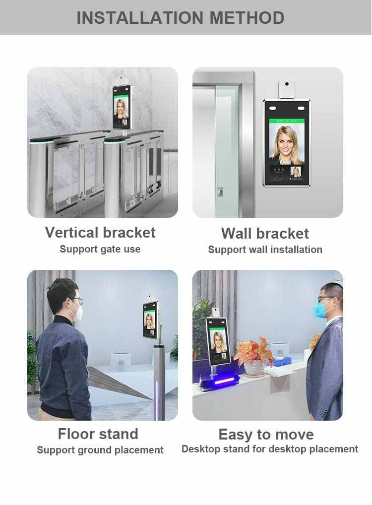 face recognition system Installation method